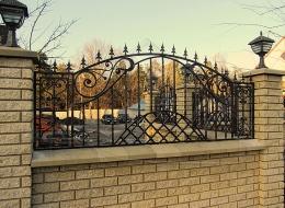 Кованые ворота Воронеж №47