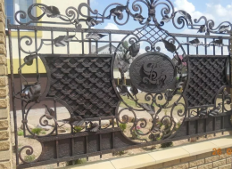 Кованые ворота Воронеж №35