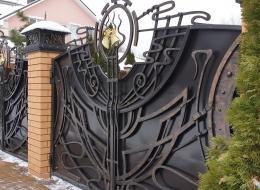 Кованые ворота Воронеж №1