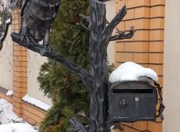 Кованые ворота Воронеж №4