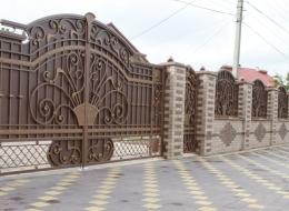 Кованые ворота Воронеж №70