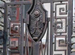 Кованые ворота Воронеж №103