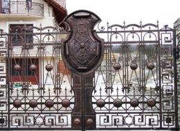 Кованые ворота Воронеж №104