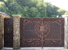 Кованые ворота Воронеж №107