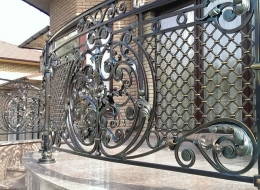 Кованые балконы Воронеж №96