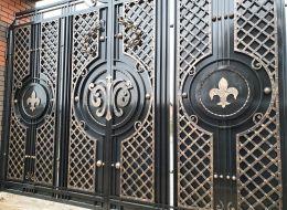 Кованые ворота Воронеж №248