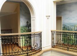 Кованые французские балконы Воронеж №3