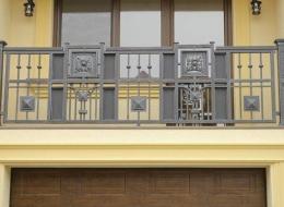 Кованые французские балконы Воронеж №82