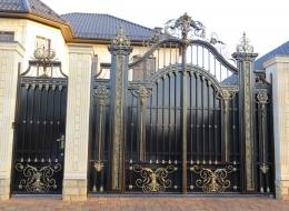 Кованые ворота Воронеж №20