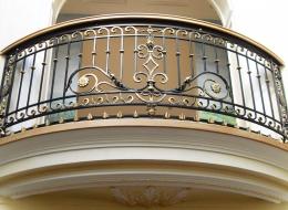 Кованые французские балконы Воронеж №9