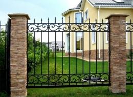 Кованые ворота Воронеж №48