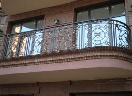 Кованые французские балконы Воронеж №17