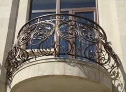 Кованые французские балконы Воронеж №59