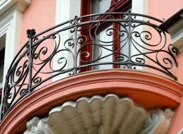 Кованые французские балконы Воронеж №16