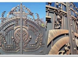 Кованые ворота Воронеж №221