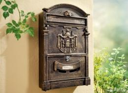 Кованые таблички, кованые почтовые ящики №37
