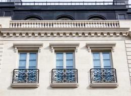 Кованые французские балконы Воронеж №4