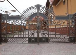 Кованые ворота Воронеж №68