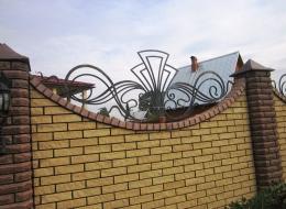 Кованые навершия на заборы Воронеж №14