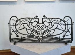Кованые каминные наборы, дровницы, решетки №10