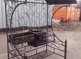 Кованые мангалы Воронеж №78
