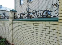 Кованые навершия на заборы Воронеж №13