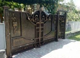 Кованые ворота Воронеж №66