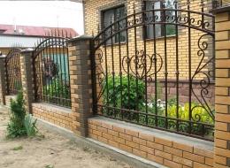 Кованые ворота Воронеж №6