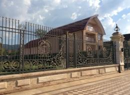 Кованые ворота Воронеж №13