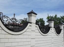 Кованые навершия на заборы Воронеж №34