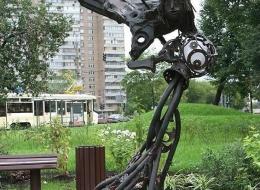 Кованые скульптуры, Арт объекты Воронеж №45