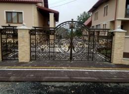 Кованые ворота Воронеж №69