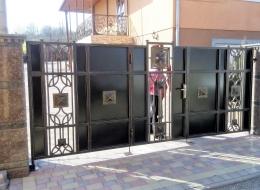 Кованые ворота Воронеж №67