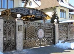 Кованые ворота Воронеж №100