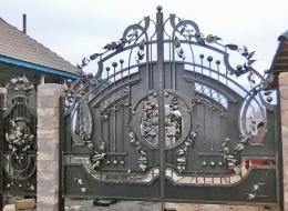 Кованые ворота Воронеж №99