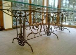 Кованые столы и стулья Воронеж №62