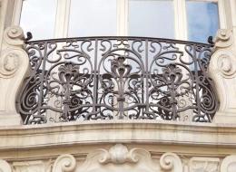 Кованые французские балконы Воронеж №22
