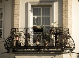 Кованые французские балконы Воронеж №56