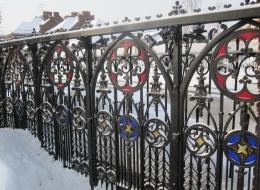 Кованые ворота Воронеж №223
