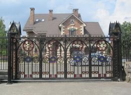 Кованые ворота Воронеж №224