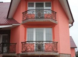 Кованые балконы Воронеж №75