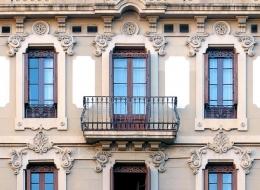 Кованые французские балконы Воронеж №24