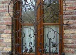 Кованые решетки на окна Воронеж №55