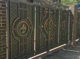Кованые ворота Воронеж №49