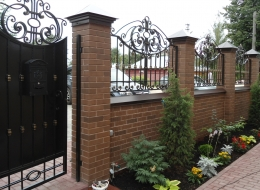 Кованые ворота Воронеж №33