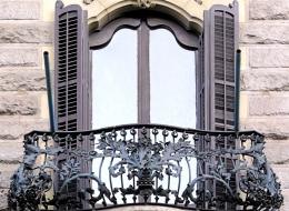 Кованые французские балконы Воронеж №26