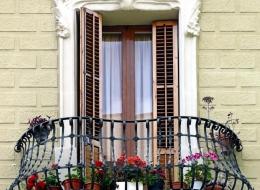 Кованые французские балконы Воронеж №27