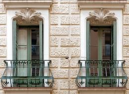 Кованые французские балконы Воронеж №28