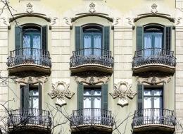 Кованые французские балконы Воронеж №29