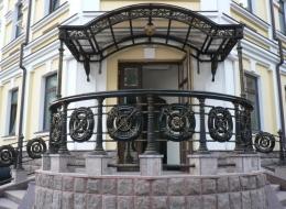 Кованые входные группы Воронеж №7